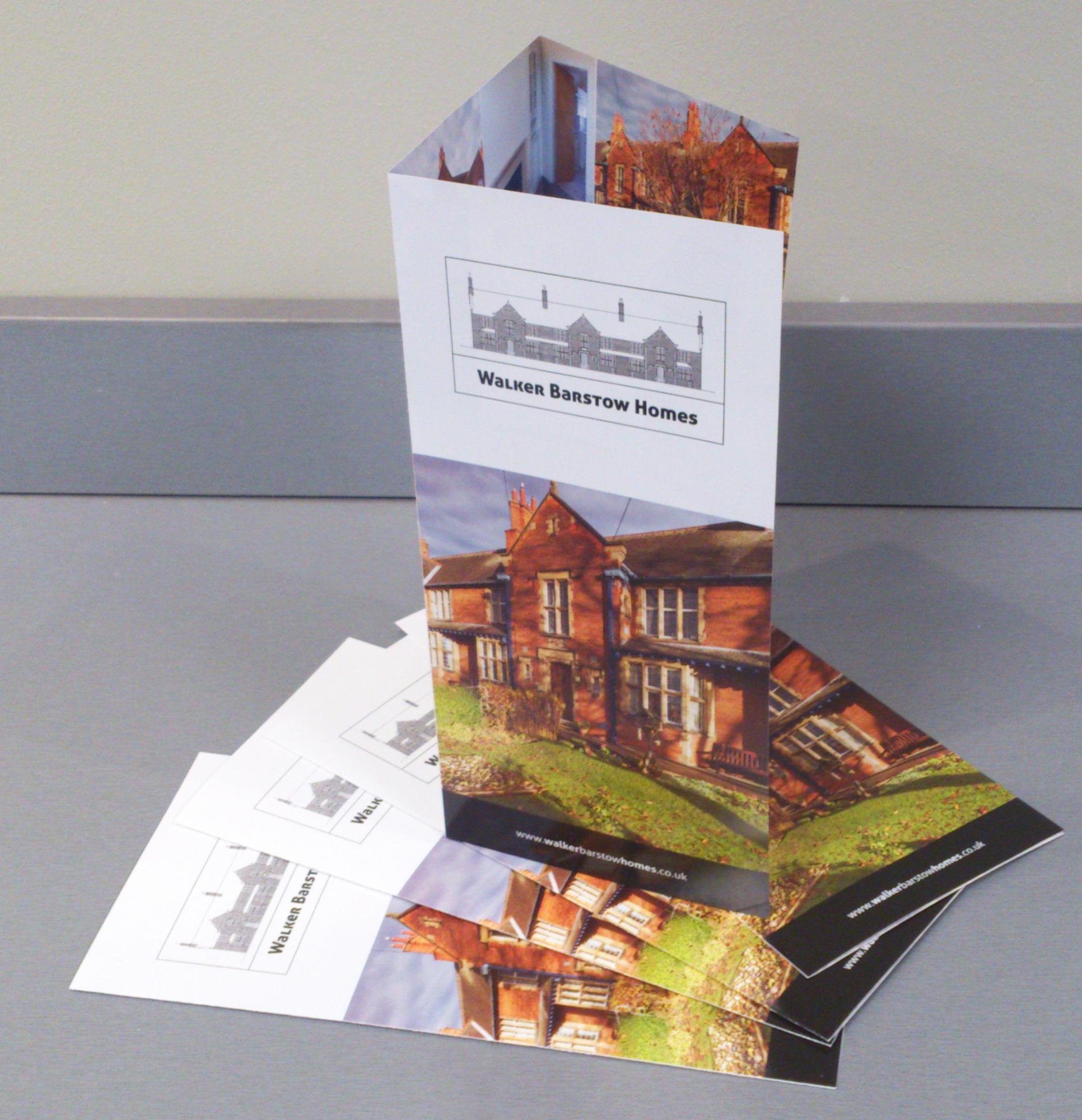 Walker Barstow Homes brochure