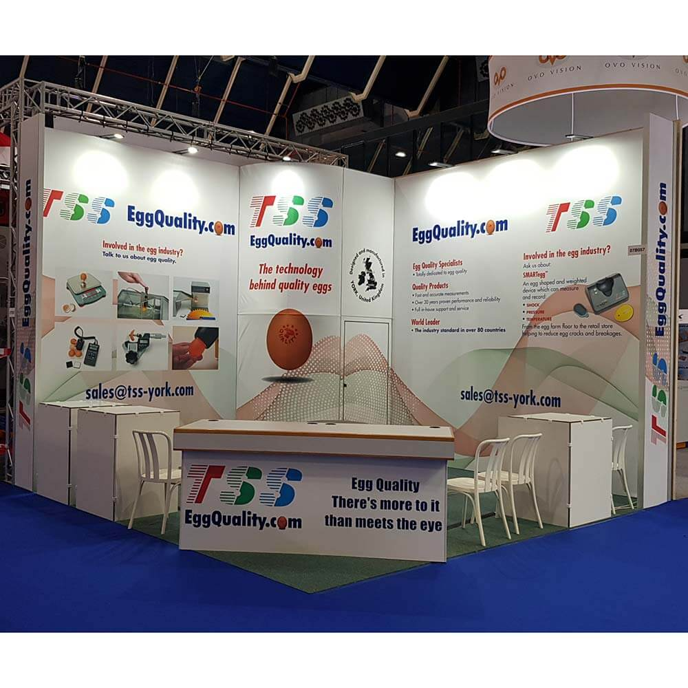Exhibition Stand Portfolio : Tss exhibition stand sane design